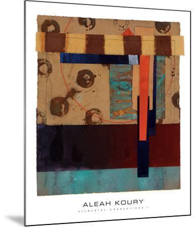 Elemental Connections I-Aleah Koury-Mounted Art Print