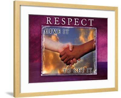 Respect--Framed Art Print