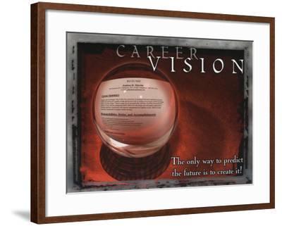 Career Vision--Framed Art Print