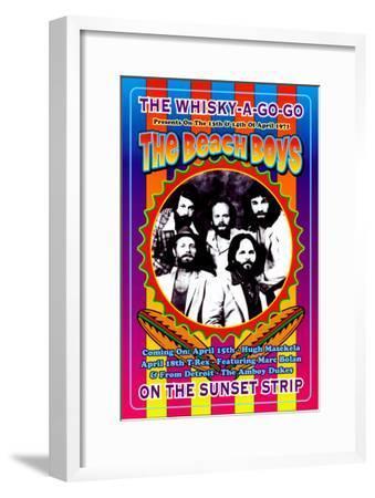 The Beach Boys at the Whiskey A-Go-Go-Dennis Loren-Framed Art Print