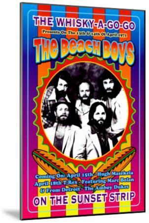 The Beach Boys at the Whiskey A-Go-Go-Dennis Loren-Mounted Art Print