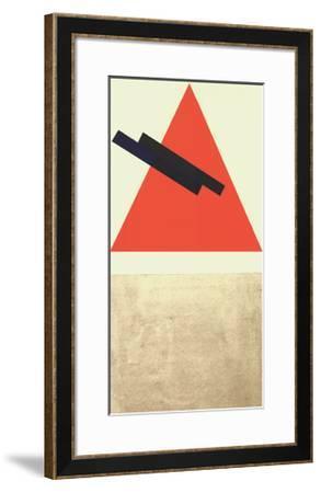 Entwurf fur Eine Festdekoration in Witebst, c.1920-Vera Jermolajeva-Framed Serigraph