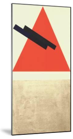 Entwurf fur Eine Festdekoration in Witebst, c.1920-Vera Jermolajeva-Mounted Serigraph