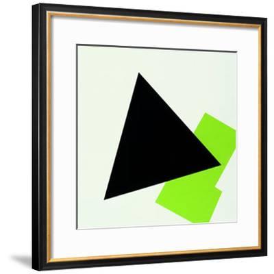 Suprematismus, c.1918-Ivan Kljun-Framed Serigraph