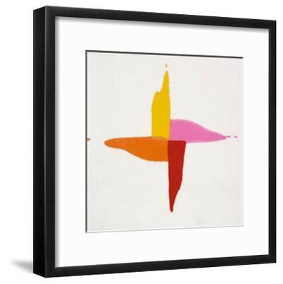 Corn Sweet, c.1961-Kenneth Noland-Framed Serigraph