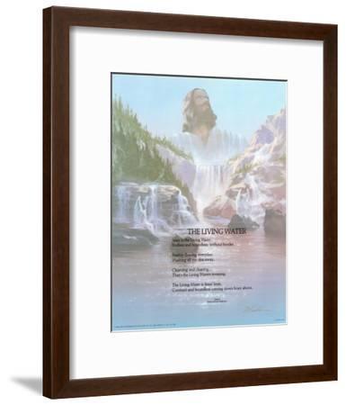 The Living Water-Danny Hahlbohm-Framed Art Print