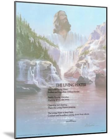 The Living Water-Danny Hahlbohm-Mounted Art Print