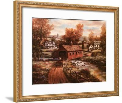 The Old Red Mill-T^ C^ Chiu-Framed Art Print