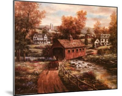 The Old Red Mill-T^ C^ Chiu-Mounted Art Print