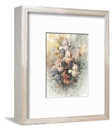 Irises-T^ C^ Chiu-Framed Art Print