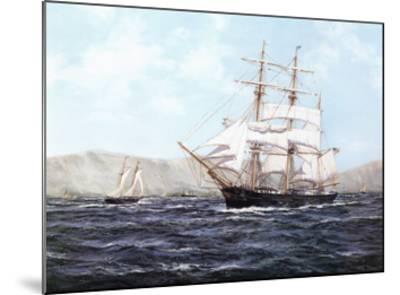 The Barque Annie Johnson-Henry Scott-Mounted Art Print