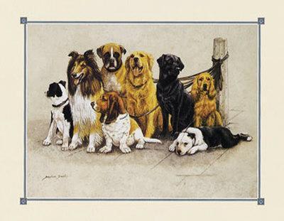 The Gang's All Here--Framed Art Print