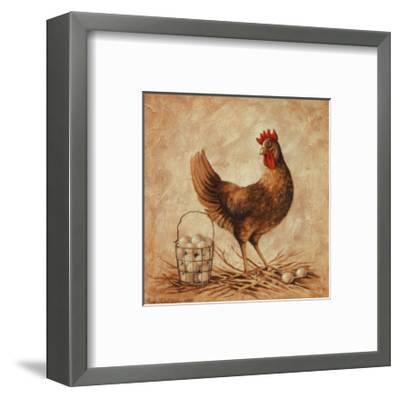 Home to Roost-Peggy Thatch Sibley-Framed Art Print
