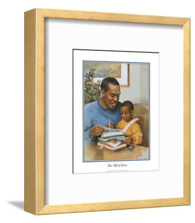 Father's Gift of Love-Lopez-Framed Art Print