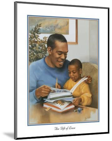 Father's Gift of Love-Lopez-Mounted Art Print