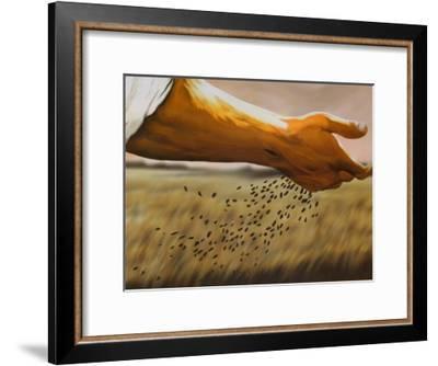 The Sower-Garret Walker-Framed Art Print