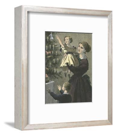 Christmas Tree--Framed Art Print