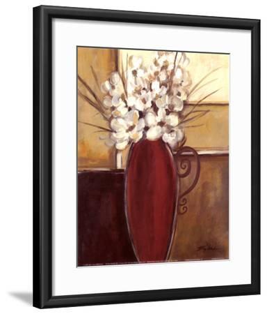 Crimson Pottery II-Joy Alldredge-Framed Art Print