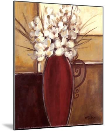 Crimson Pottery II-Joy Alldredge-Mounted Art Print