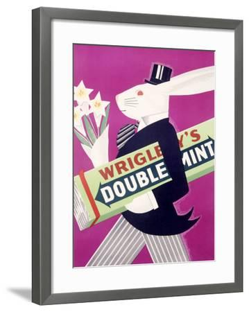 Wrigley's Chewing Gum--Framed Giclee Print