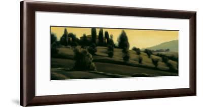 Dawn Montepulciano-Mallory Lake-Framed Art Print