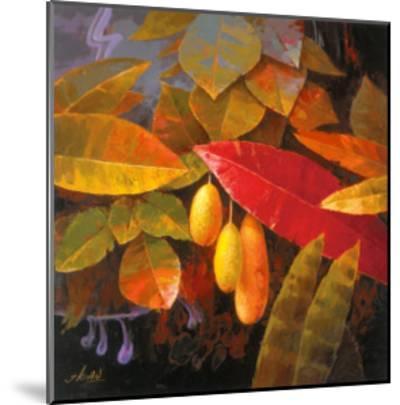 Tropical Leaves I-June K^ An-Mounted Art Print
