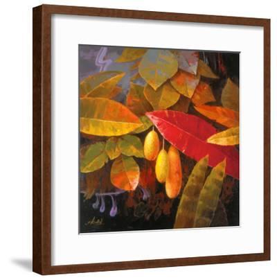 Tropical Leaves I-June K^ An-Framed Art Print