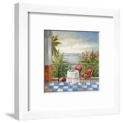 Terrace View III-Alexa Kelemen-Framed Art Print