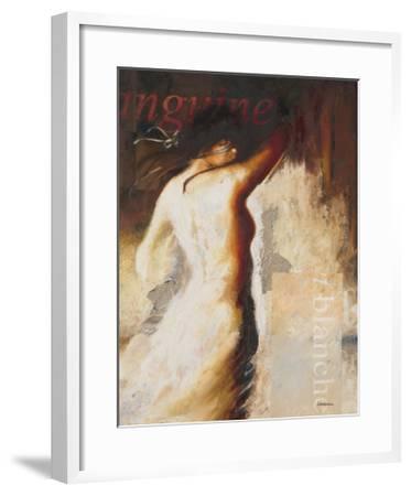 Sanguine et Blanche-Steve Underwood-Framed Art Print