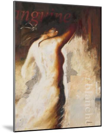 Sanguine et Blanche-Steve Underwood-Mounted Art Print