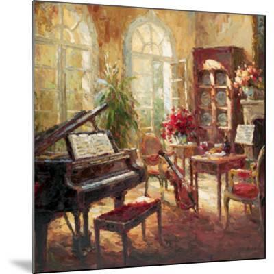 Musical-Nikolai Rimsky-Mounted Art Print