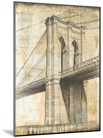 Brooklyn Bridge-P^ Moss-Mounted Art Print