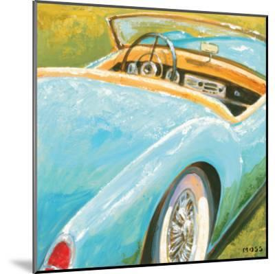 Roadster II-P^ Moss-Mounted Art Print