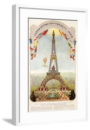 Universal Exposition Fair, Paris, c.1889--Framed Giclee Print