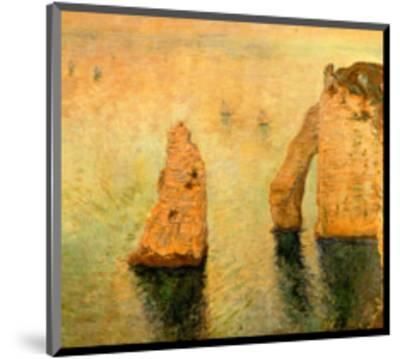 Rocks at Sea-Claude Monet-Mounted Giclee Print
