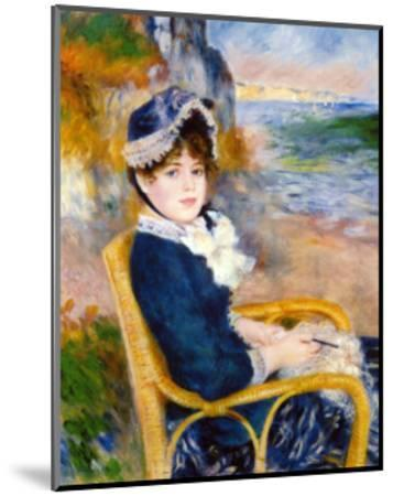 By the Sea Shore-Pierre-Auguste Renoir-Mounted Giclee Print