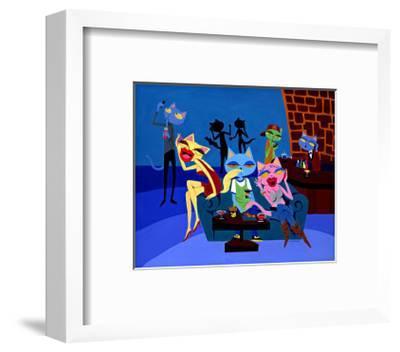 Talk to Me-MASACO-Framed Giclee Print