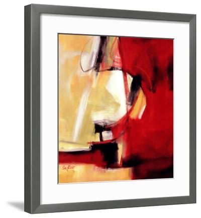 Movement in Red-Eva Carter-Framed Art Print