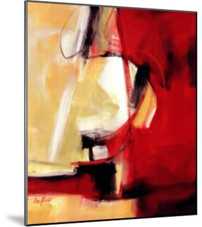 Movement in Red-Eva Carter-Mounted Art Print