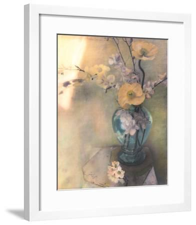 Poppies and Spring Blossoms-Susan Friedman-Framed Art Print