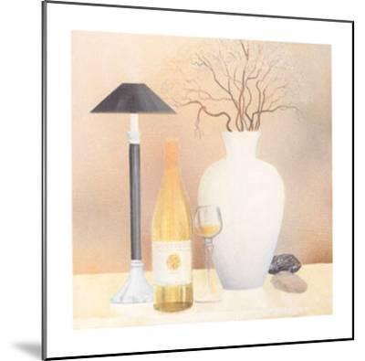 Still Life with Black Lamp-Heinz Hock-Mounted Art Print