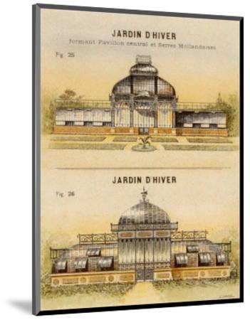 Jardin d'Hiver-Laurence David-Mounted Art Print