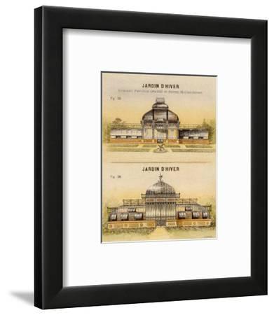 Jardin d'Hiver-Laurence David-Framed Art Print