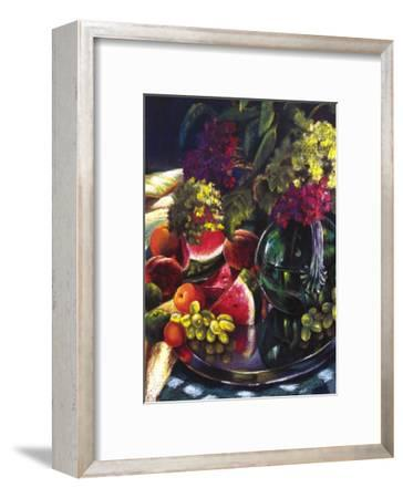 Water Melon Delight-Pamela Carter-Framed Art Print