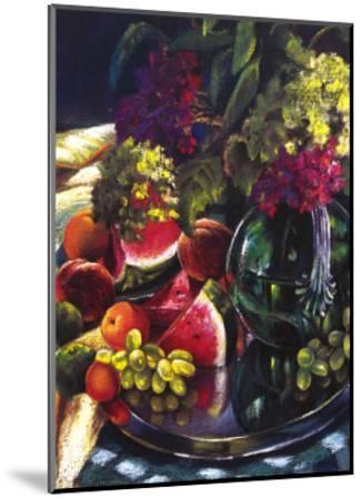Water Melon Delight-Pamela Carter-Mounted Art Print