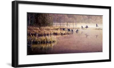 Direction Nord-Pierre Leduc-Framed Art Print