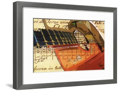 Strummin'-Troy-Framed Art Print