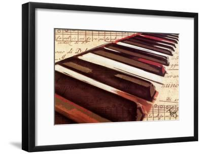 Ebony and Ivory-Troy-Framed Art Print
