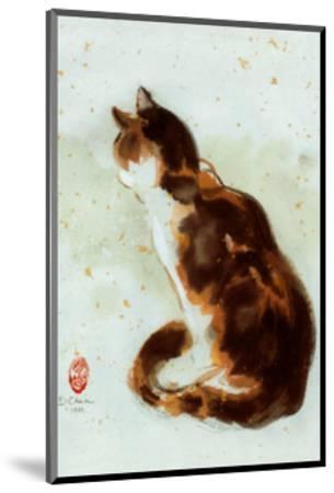 Dehong's Cat-Hu Chen-Mounted Art Print