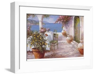 An Italian Summer IV-N^ Fiore-Framed Art Print